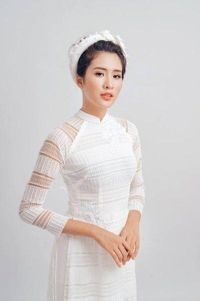 áo dài cưới 1 Các mẹo chọn áo dài cưới cho cô dâu có thân hình mập mạp