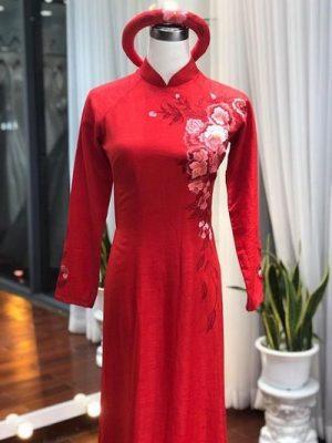 áo dài cưới 6 Các mẹo chọn áo dài cưới cho cô dâu có thân hình mập mạp