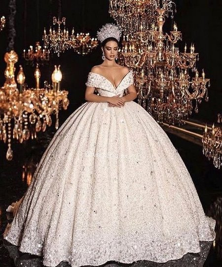 váy cưới trễ vai Say đắm với 100 mẫu thiết kế váy cưới trễ vai đẹp nhất 2019
