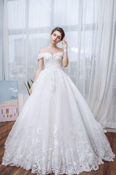 Thiết kế váy cưới 10 Say đắm với những mẫu thiết kế váy cưới 2019 đẹp của Camile Bridal