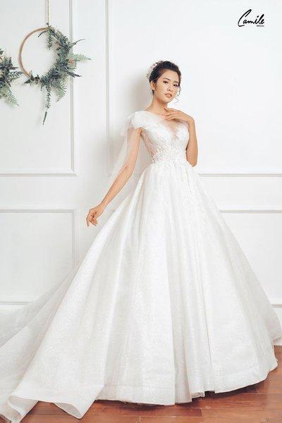 Thiết kế váy cưới 11 Say đắm với những mẫu thiết kế váy cưới 2019 đẹp của Camile Bridal