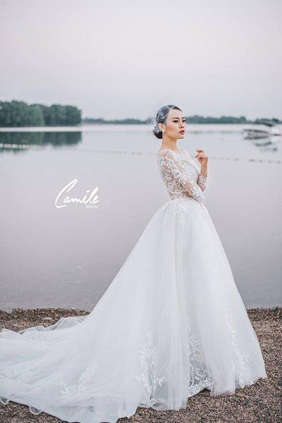 Thiết kế váy cưới 13 Say đắm với những mẫu thiết kế váy cưới 2019 đẹp của Camile Bridal