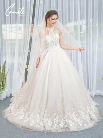 Thiết kế váy cưới 14 Say đắm với những mẫu thiết kế váy cưới 2019 đẹp của Camile Bridal
