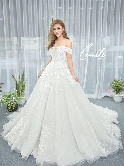 Thiết kế váy cưới 16 Say đắm với những mẫu thiết kế váy cưới 2019 đẹp của Camile Bridal