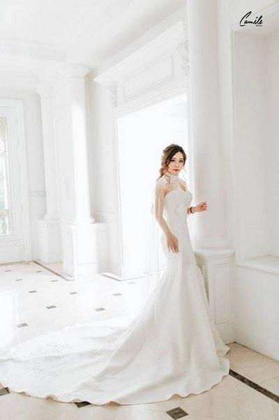 Thiết kế váy cưới 17 Say đắm với những mẫu thiết kế váy cưới 2019 đẹp của Camile Bridal