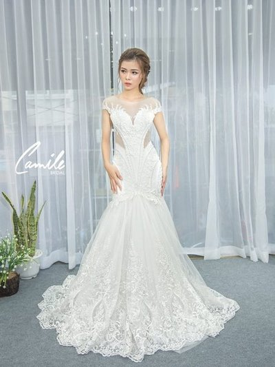 Thiết kế váy cưới 18 Say đắm với những mẫu thiết kế váy cưới 2019 đẹp của Camile Bridal