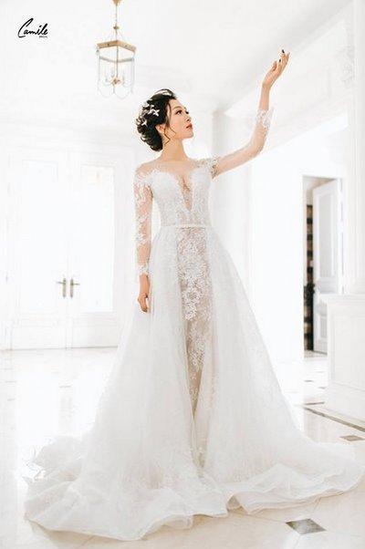 Thiết kế váy 2cưới  Say đắm với những mẫu thiết kế váy cưới 2019 đẹp của Camile Bridal