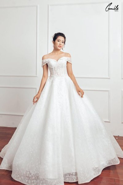 Thiết kế váy cưới 24 Say đắm với những mẫu thiết kế váy cưới 2019 đẹp của Camile Bridal