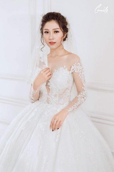 Thiết kế váy cưới 28 Say đắm với những mẫu thiết kế váy cưới 2019 đẹp của Camile Bridal
