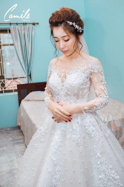 Thiết kế váy cưới 29 Say đắm với những mẫu thiết kế váy cưới 2019 đẹp của Camile Bridal