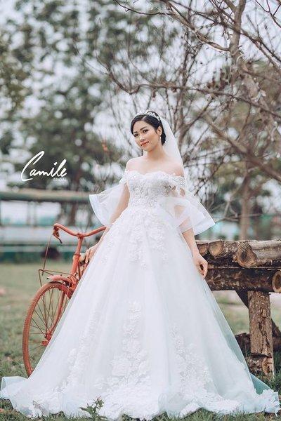 Thiết kế váy cưới 3 Say đắm với những mẫu thiết kế váy cưới 2019 đẹp của Camile Bridal