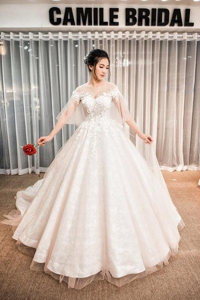 Thiết kế váy cưới 31 Say đắm với những mẫu thiết kế váy cưới 2019 đẹp của Camile Bridal