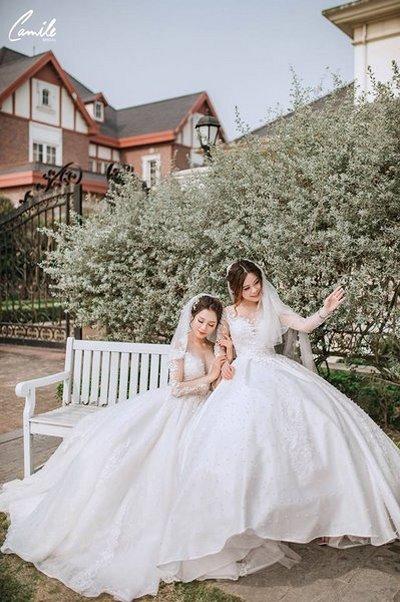 Thiết kế váy cưới 32 Say đắm với những mẫu thiết kế váy cưới 2019 đẹp của Camile Bridal