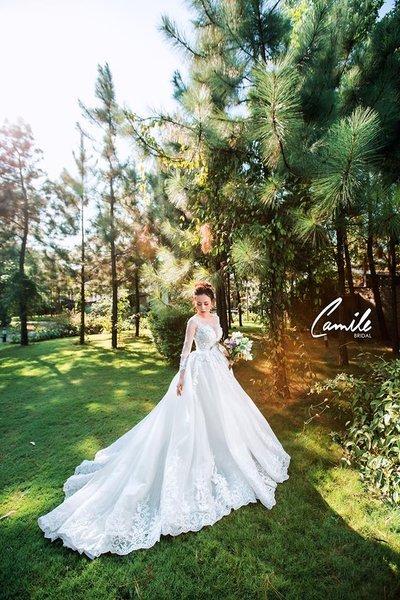 Thiết kế váy cưới 4 Say đắm với những mẫu thiết kế váy cưới 2019 đẹp của Camile Bridal