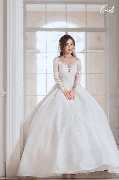 Thiết kế váy cưới 5 Say đắm với những mẫu thiết kế váy cưới 2019 đẹp của Camile Bridal