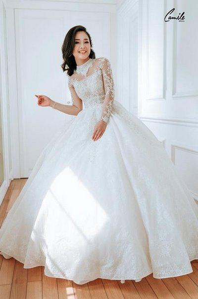 Thiết kế váy cưới 7 Say đắm với những mẫu thiết kế váy cưới 2019 đẹp của Camile Bridal