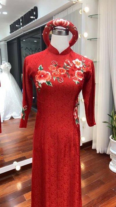 thuê áo dài cưới 4 3 Nguyên tắc bạn nhất định phải nhớ khi thuê áo dài cưới