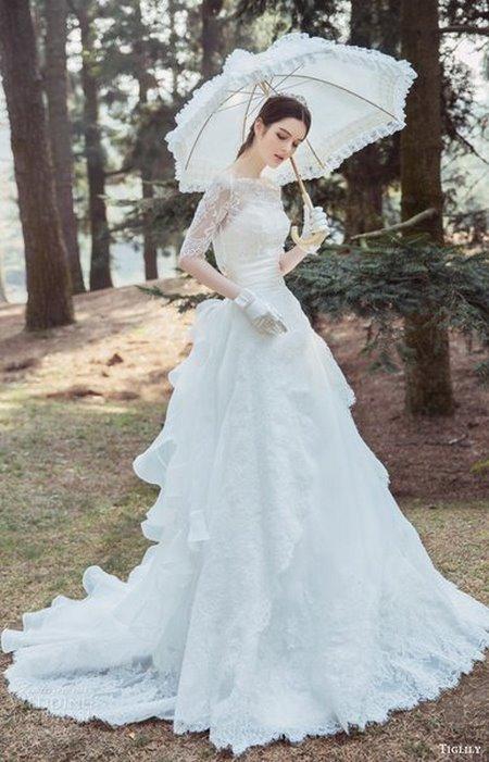 áo cưới dài tay Top 100 mẫu thiết kế áo cưới tay dài đẹp nhất 2021