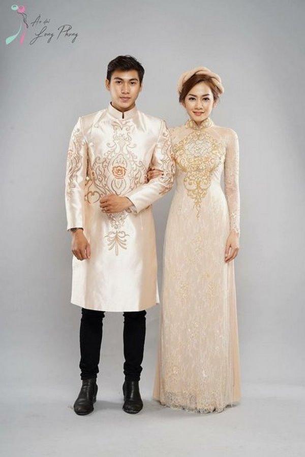 """áo dài cưới 1 Ngất ngây với BST Áo dài cưới của Camile Bridal khiến các nàng dâu """"xinh như mộng"""""""