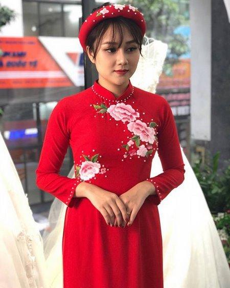áo dài cưới 10 Thuê áo dài cưới Hà Nội cao cấp giá rẻ chỉ từ 1 triệu ở Camile Bridal