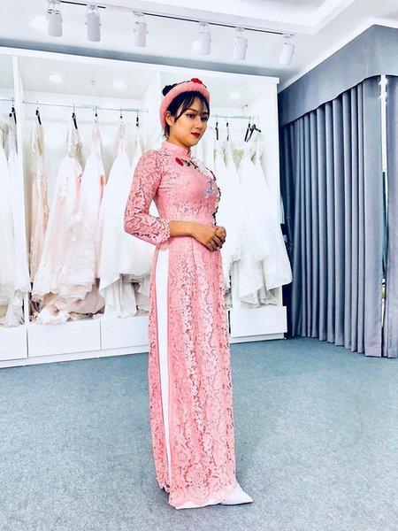 áo dài cưới 11 Thuê áo dài cưới Hà Nội cao cấp giá rẻ chỉ từ 1 triệu ở Camile Bridal