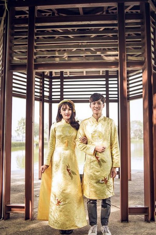 """áo dài cưới 12 Ngất ngây với BST Áo dài cưới của Camile Bridal khiến các nàng dâu """"xinh như mộng"""""""