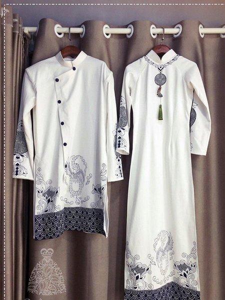 áo dài cưới 12 Thuê áo dài cưới Hà Nội cao cấp giá rẻ chỉ từ 1 triệu ở Camile Bridal