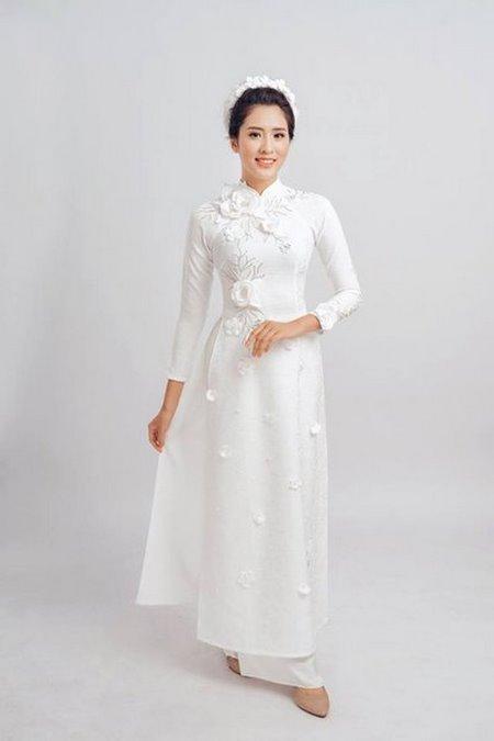 áo dài cưới 4 Thuê áo dài cưới Hà Nội cao cấp giá rẻ chỉ từ 1 triệu ở Camile Bridal
