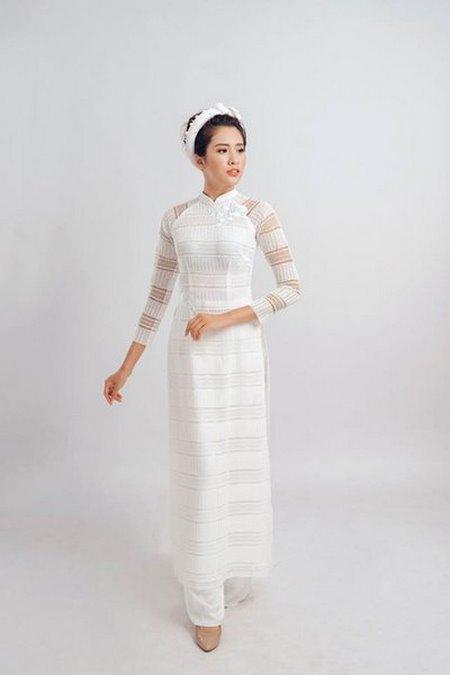 áo dài cưới 5 Thuê áo dài cưới Hà Nội cao cấp giá rẻ chỉ từ 1 triệu ở Camile Bridal