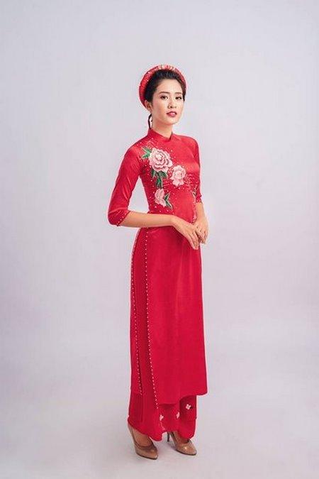 áo dài cưới 6 Thuê áo dài cưới Hà Nội cao cấp giá rẻ chỉ từ 1 triệu ở Camile Bridal