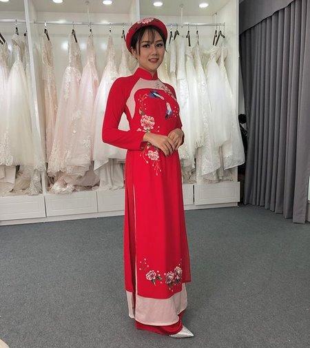 áo dài cưới 9 Thuê áo dài cưới Hà Nội cao cấp giá rẻ chỉ từ 1 triệu ở Camile Bridal