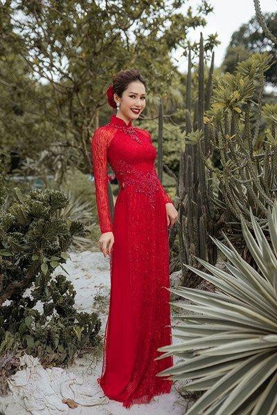 áo dài cưới cách tân Top 100+ mẫu áo dài cưới cách tân đẹp lộng lẫy, sang chảnh nhất 2019