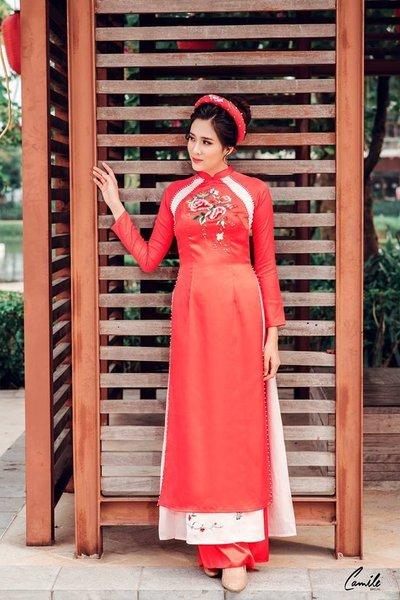 áo dài cưới cách tân Top 10 Địa chỉ cho thuê váy cưới tại Hà Nội cao cấp và sang trọng nhất năm 2019