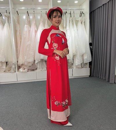 áo dài đám cưới 4 Áo dài đám cưới có khác áo dài đám hỏi không?