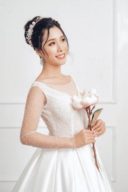 bộ sưu tập váy cưới tròn 11 Ngẩn ngơ với BST Váy cưới tròn giúp bạn trở thành công chúa trong tích tắc