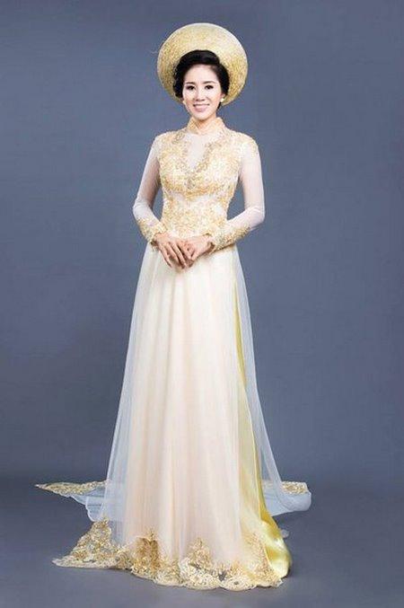 may áo dài cưới 8 Top 10 địa chỉ may áo dài cưới đẹp và nổi tiếng nhất tại Hà Nội