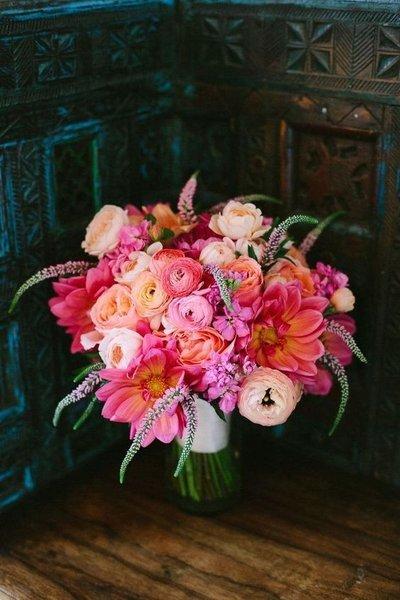 hoa cưới cầm tay Top 100+ mẫu hoa cưới cầm tay cho cô dâu đẹp rực rỡ và thời trang 2019