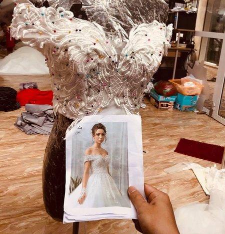 may đo thuê váy cưới 7 May đo thuê váy cưới cao cấp giá rẻ chỉ như giá thuê tại Camile Bridal