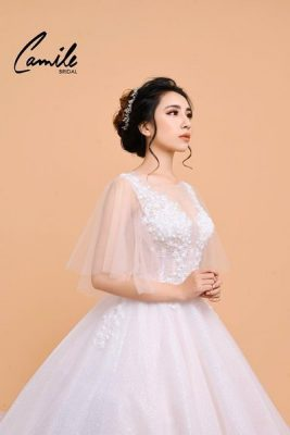 Máy váy cưới 1 5 lý do để may váy cưới tại Hà Nội được các cô dâu yêu thích