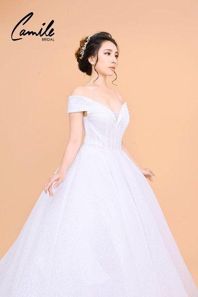 Máy váy cưới 2 5 lý do để may váy cưới tại Hà Nội được các cô dâu yêu thích