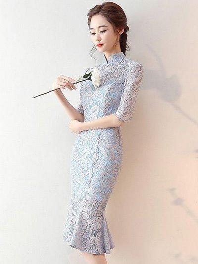 áo cưới sườn xám đẹpnhất 2019 Top 50 mẫu thiết kế áo cưới sườn xám sexy, quyến rũ cho các nàng dâu x
