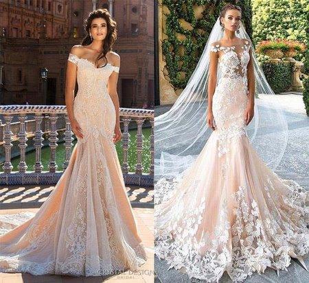 thiết kế áo cưới  Tổng hợp 100 mẫu thiết kế áo cưới dành cho cô dâu gầy đẹp 2021