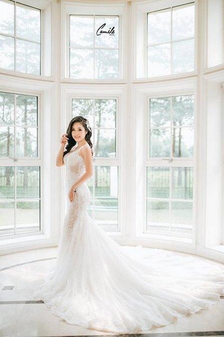 thiết kế áo cưới 3 Tổng hợp 100 mẫu thiết kế áo cưới dành cho cô dâu gầy đẹp 2020