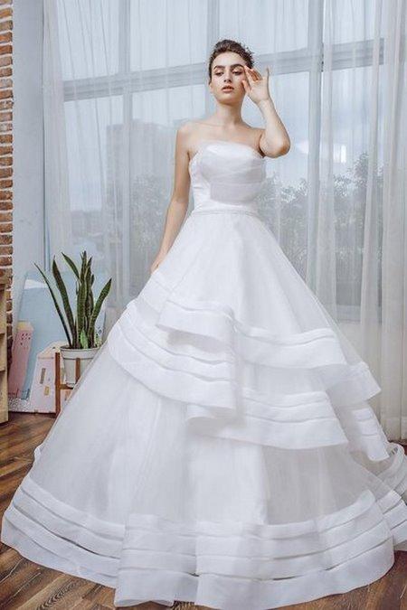 thiết kế áo cưới  Tổng hợp 100 mẫu thiết kế áo cưới dành cho cô dâu gầy đẹp 2020