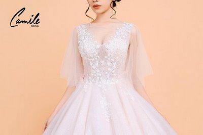 Thiết kế áo cưới 6 Mê mẩn với thiết kế áo cưới cánh tiên lộng lẫy dành riêng cho mùa Thu Đông 2018