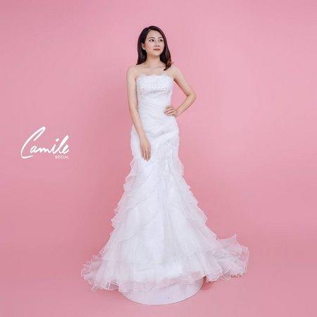 thiết kế6 áo cưới  Tổng hợp 100 mẫu thiết kế áo cưới dành cho cô dâu gầy đẹp 2020