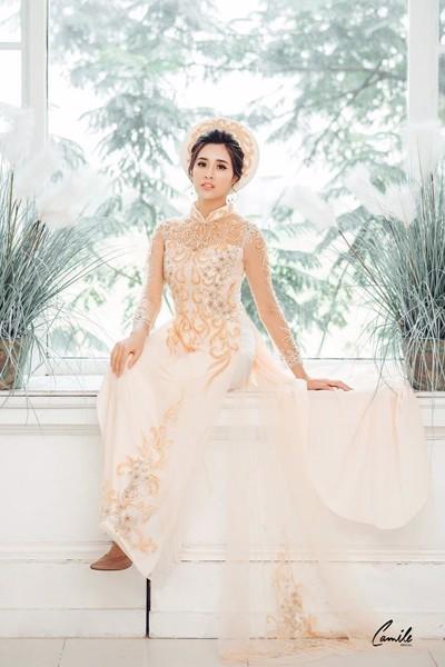 thiết kế áo dài cưới Top 30 thiết kế áo dài cưới đẹp, sang trọng nhất 2019 cho cô dâu Việt Trang chủ
