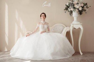 thiết kế váy cưới 1 Hóa công chúa xinh đẹp với thiết kế váy cưới Hoàng gia lộng lẫy Royal wedding dress của Camile Bridal