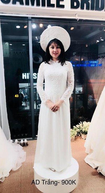 thuê áo dài cưới 5 Cô dâu tóc ngắn có nên thuê áo dài cưới?