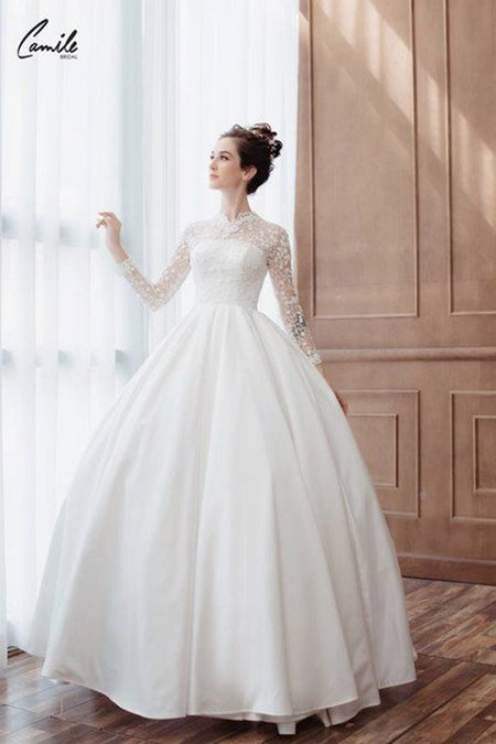 thuê váy cưới 1 Tiền thuê váy cưới ai trả, cô dâu hay chú rể?